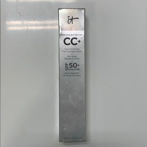 """It Cosmetics """"Your skin but better"""" CC+ cream"""